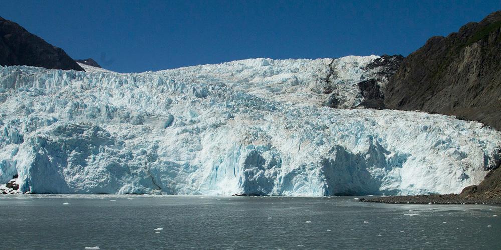 Glaciers in Alaska Ellison Air
